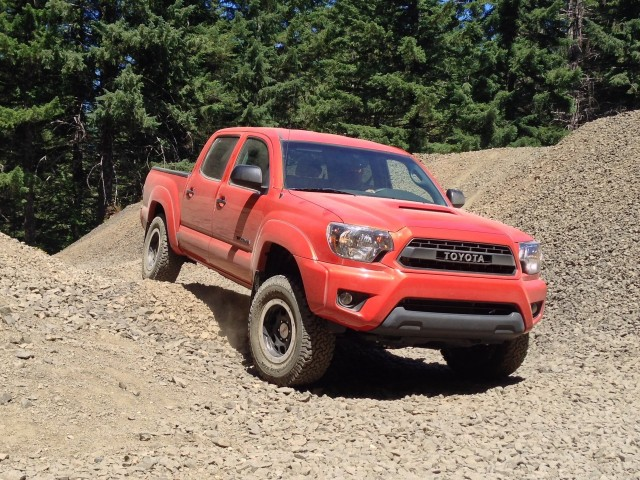2015 Toyota TRD Pro Tacoma - Quick Drive, July 2014