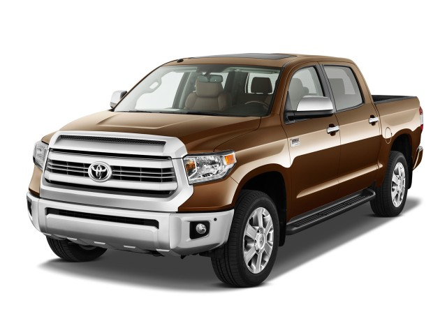 2015 Toyota Tundra Angular Front Exterior View
