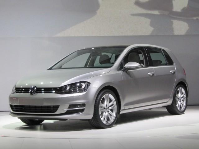 2015 Volkswagen Golf, at 2013 New York Auto Show