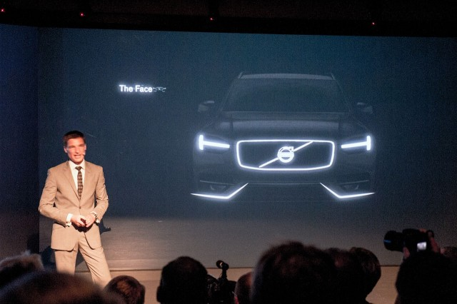 2015 Volvo XC90 teased during presentation - Image via Feber