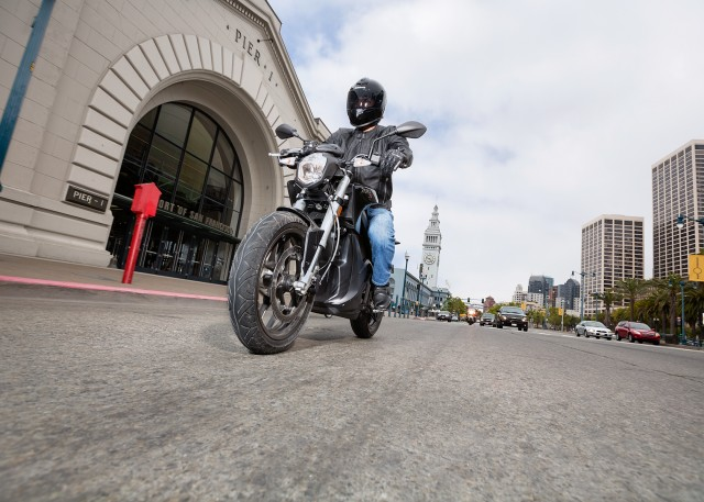 2015 Zero electric motorcycle