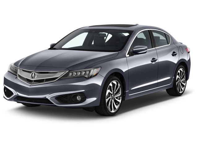 2016 Acura ILX 4-door Sedan w/Premium/A-SPEC Pkg Angular Front Exterior View