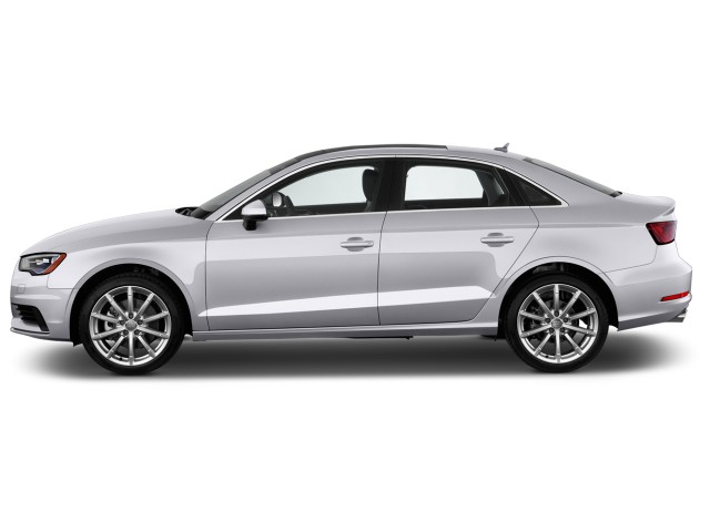 2016 Audi A3 4-door Sedan FWD 1.8T Prestige Side Exterior View