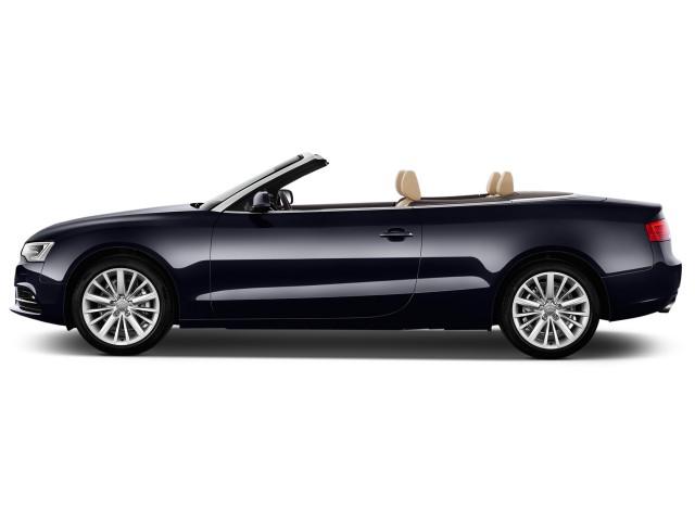 2016 Audi A5 2-door Cabriolet Auto quattro 2.0T Premium Plus Side Exterior View