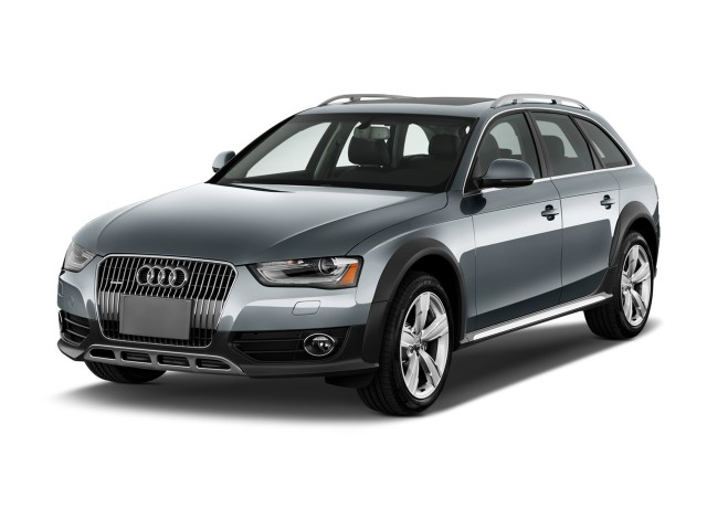 2016 Audi Allroad 4-door Wagon Premium Angular Front Exterior View