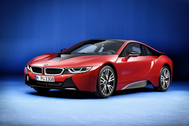 2016 BMW i8 Protonic Red Edition