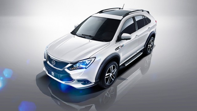 2016 BYD Tang plug-in hybrid SUV, made in China