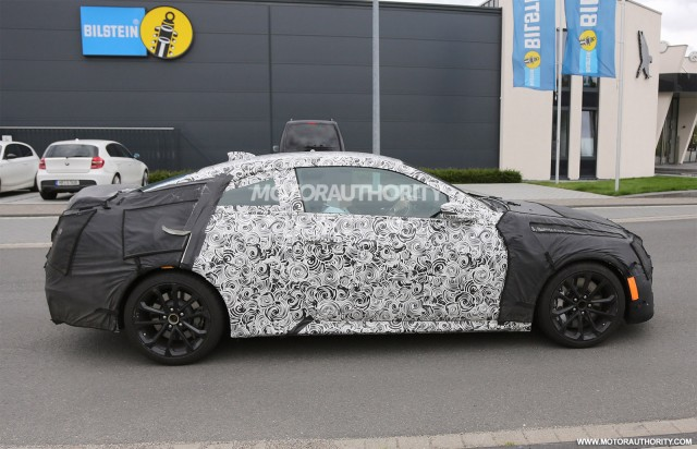 2016 Cadillac ATS-V Coupe spy shots