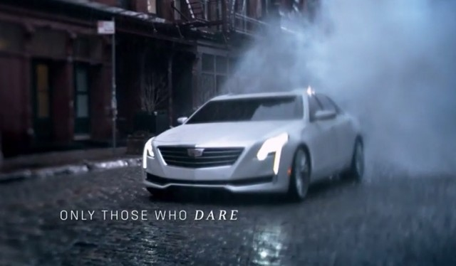 2016 Cadillac CT6 in new spot 'The Daring: No Regrets'