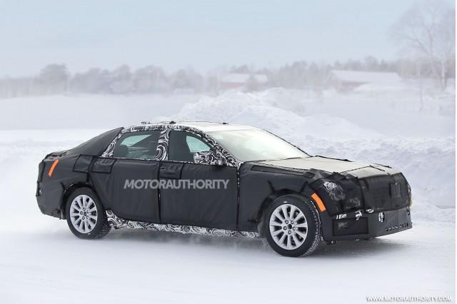 2016 Cadillac CT6 spy shots