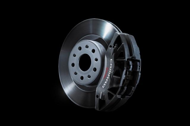 2016 Chevrolet Camaro's Brembo brakes