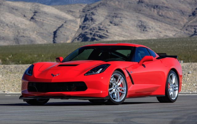 2016 Chevrolet Corvette Stingray upgraded with Corvette Z06 parts, 2015 SEMA show