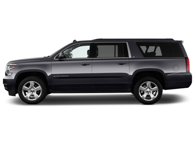 2016 Chevrolet Suburban 2WD 4-door 1500 LT Side Exterior View