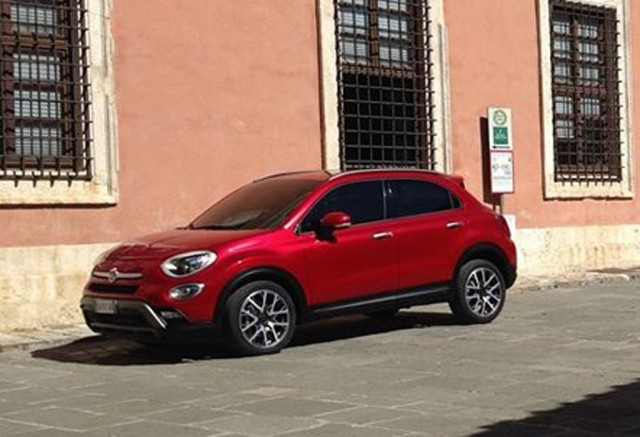 2016 Fiat 500X leaked (Image via Quattroruote Forums)