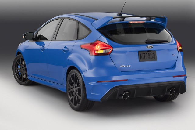 2016 Ford Focus RS U.S. Specs, Availability Confirmed: Live Photos And ...
