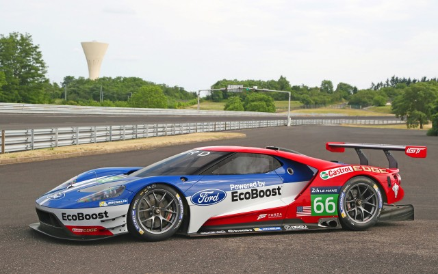 2016 ford gt race car - Ford Gt 2016 Engine