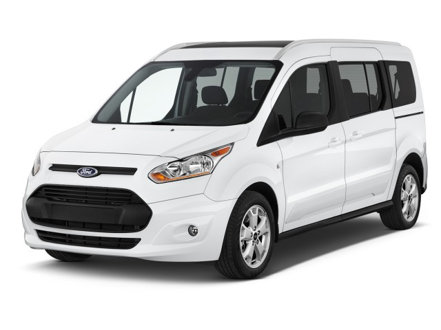 2016 Ford Transit Connect Wagon 4-door Wagon LWB XLT w/Rear Liftgate Angular Front Exterior View