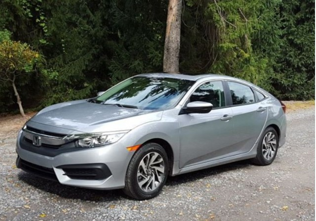 2016 honda civic first drive of new 35 mpg compact sedan. Black Bedroom Furniture Sets. Home Design Ideas