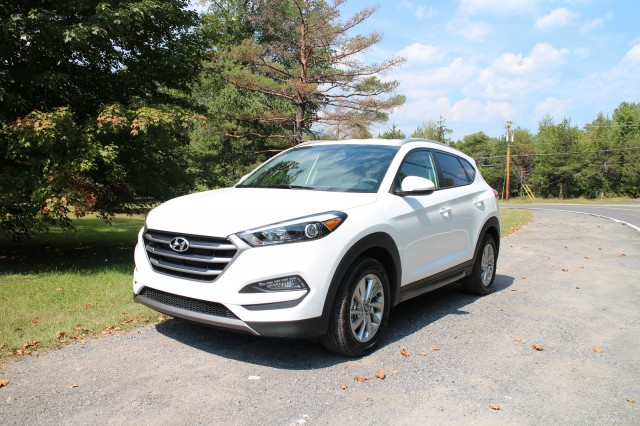 2016 Hyundai Tucson Eco, road test, Catskill Mountains, NY, Sep 2015