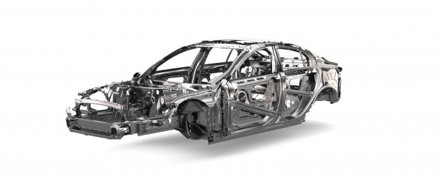 2016 Jaguar XE aluminum construction
