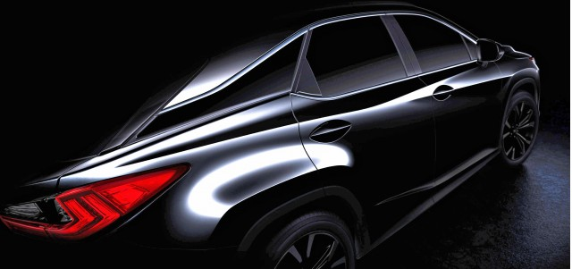 2016 Lexus RX teaser image, enhanced
