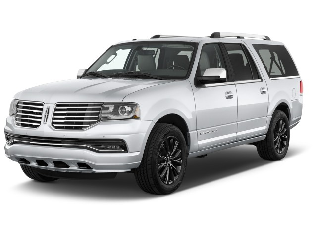 2016 Lincoln Navigator L 4WD 4-door Select Angular Front Exterior View