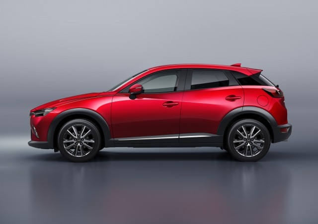 2016 mazda cx 3 gets only a diesel engine in japan. Black Bedroom Furniture Sets. Home Design Ideas