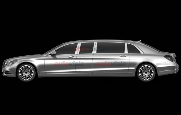 2016 Mercedes-Benz S-Class Pullman patent images leaked