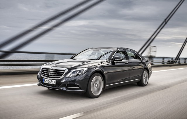 2016 Mercedes-Benz S550 Plug-In Hybrid