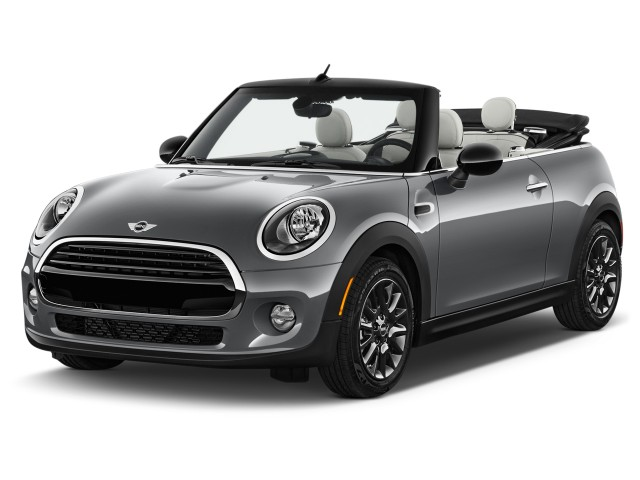 2016 MINI Cooper Convertible 2-door Angular Front Exterior View