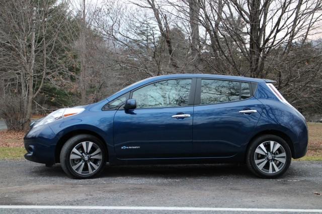 2016 Nissan Leaf SL, Hudson Valley, NY, Dec 2015