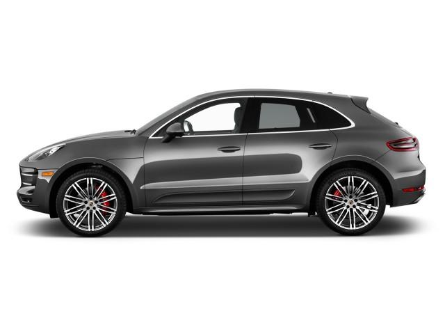 2016 Porsche Macan AWD 4-door Turbo Side Exterior View