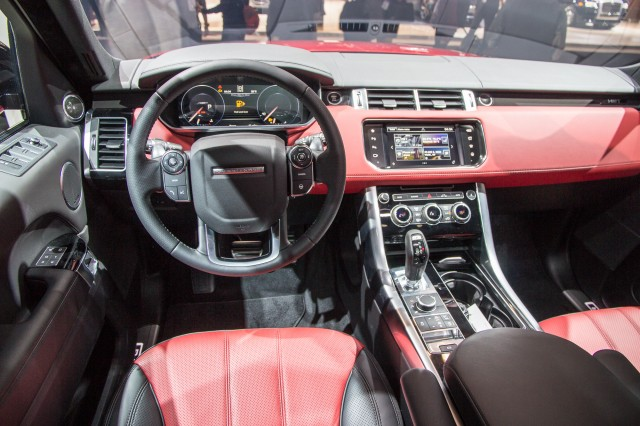 2016 Range Rover Sport HST Limited Edition, 2015 New York Auto Show
