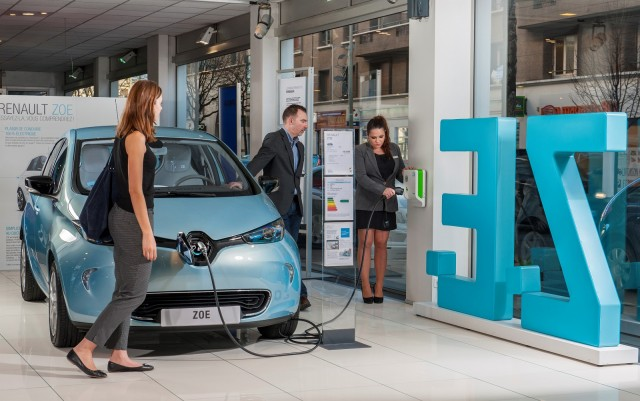 2016 Renault Zoe electric car