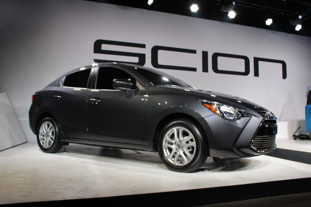2016 Scion iA - 2015 NY Auto Show live photos (preview event)