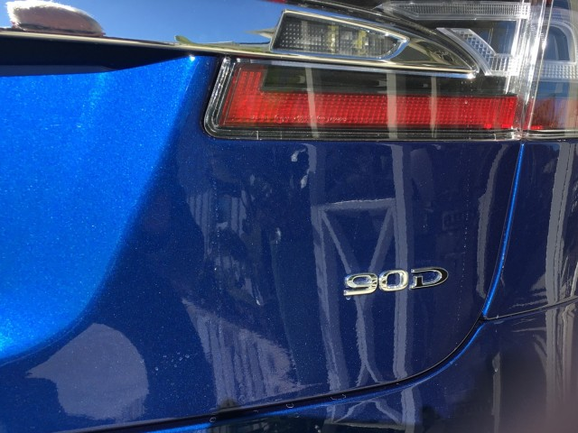2016 Tesla Model S 90D during Southern California test drive [photo: David Noland]