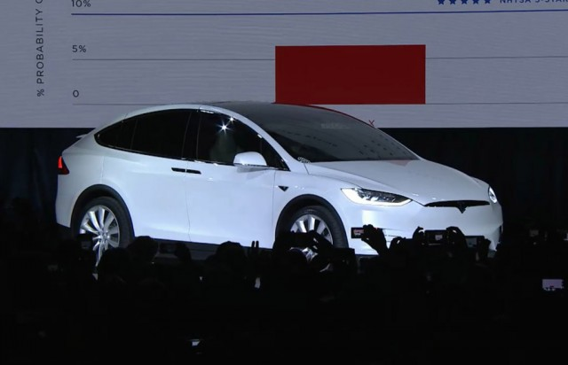 2016 Tesla Model X launch in Fremont, California