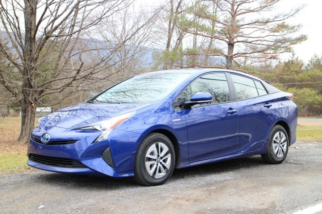 2016 Toyota Prius, Catskill Mountains, NY, Dec 2015