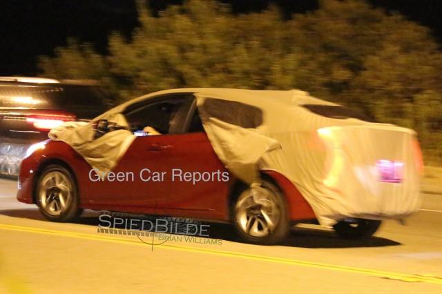 2016 Toyota Prius Spy Shots