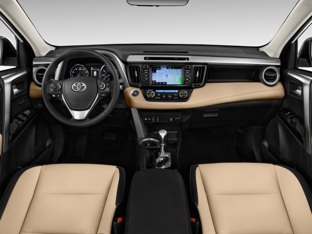 2016 Toyota RAV4 AWD 4-door Limited (Natl) Dashboard