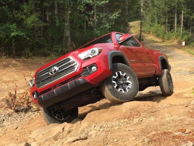 2016 Toyota Tacoma  -  First Drive, August 2016