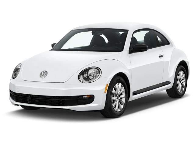 2016 Volkswagen Beetle Coupe 2-door Auto 1.8T S Angular Front Exterior View