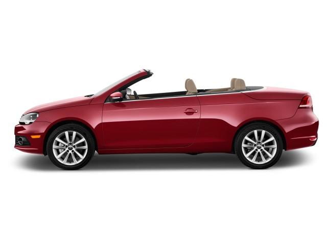 2016 Volkswagen Eos 2-door Convertible Komfort Side Exterior View