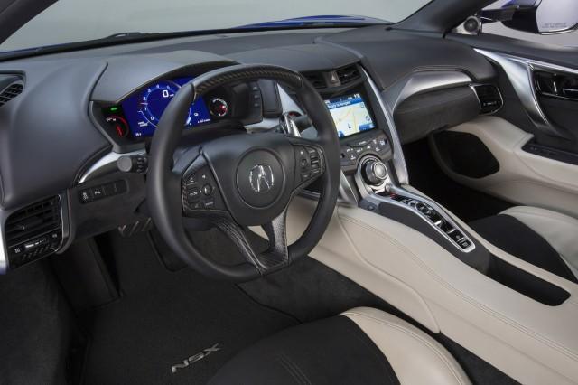 Acura nsx a vendre 2016