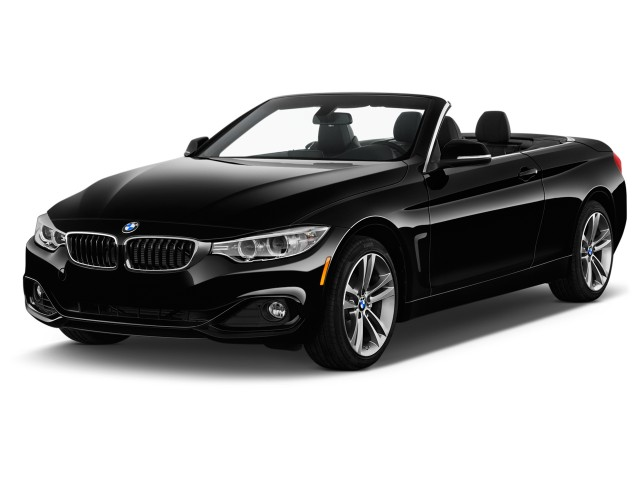 2017 BMW 4-Series 430i Convertible SULEV Angular Front Exterior View