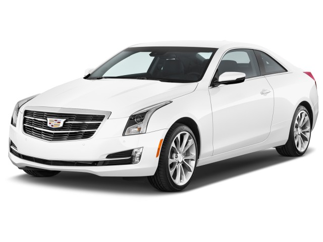 2017 Cadillac ATS Coupe 2-door Coupe 3.6L Premium Performance RWD Angular Front Exterior View