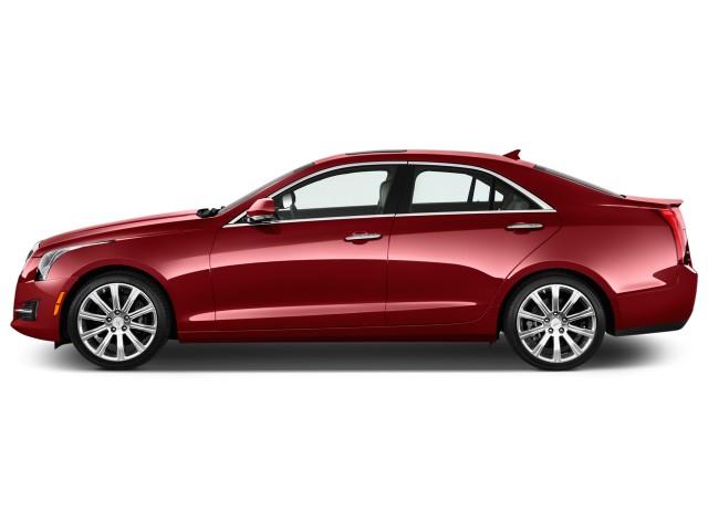 2017 Cadillac ATS Sedan 4-door Sedan 3.6L Premium Performance RWD Side Exterior View