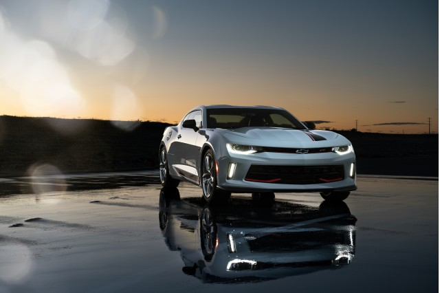 2017 Chevrolet Camaro RS with Chevrolet Performance Parts
