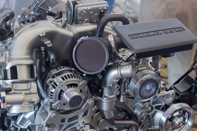 2017 Chevrolet Silverado HD diesel engine