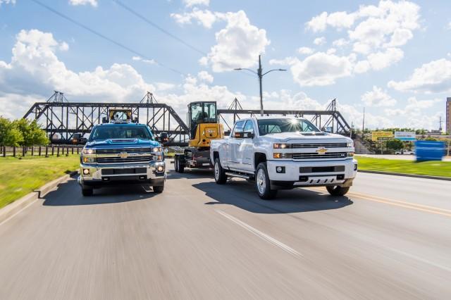 Chevrolet Silverado Heavy duty drive with John Deere, Jessica Walker, courtesy of Chevrolet